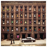 ORMOND GIGLI (American, b. 1925) Girls in the Window, 1960 Chromogenic, 2010 23-3/4 x 24 inches (