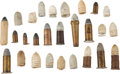 Antiques:Antiquities, Lot of Assorted Civil War Era Cartridges and Excavated Bullets. ...