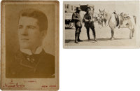 Lot of Two 19th Century Celebrity Photographs