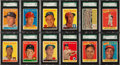 Baseball Cards:Sets, 1958 Topps Baseball Complete Set (494) - With Almost 100 Graded Cards. ...