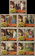 """Movie Posters:Romance, Tycoon (RKO, 1947). Lobby Cards (7) (11"""" X 14""""). Romance.. ... (Total: 7 Items)"""