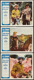 "Movie Posters:Western, Two Gun Marshal (Allied Artists, 1953). Lobby Cards (3) (11"" X 14""). Western.. ... (Total: 3 Items)"