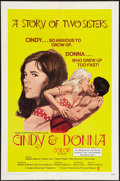 "Movie Posters:Sexploitation, Cindy and Donna (Crown International, 1970). One Sheet (27"" X 41"").Sexploitation.. ..."