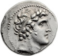 Ancients:Greek, Ancients: Alexander I Balas (150-145 BC). AR tetradrachm (27mm,14.21 gm, 12h). ...