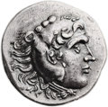Ancients:Greek, Ancients: Alexander III the Great (336-323 BC). Fourrée tetradrachm(30mm, 15.08 gm, 12h). ...