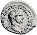 Ancients:Roman Imperial, Ancients: Vespasian (AD 69-79). AR denarius (19mm, 3.41 gm, 6h). ...