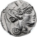 Ancients:Greek, Ancients: Athens. Ca. 454-419 BC. AR tetradrachm (24mm, 17.25 gm,9h). ...