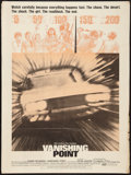 """Movie Posters:Action, Vanishing Point (20th Century Fox, 1971). Poster (30"""" X 40""""). Action.. ..."""