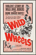 "Movie Posters:Exploitation, Wild Wheels (Fanfare, 1969). One Sheet (27"" X 41""). Exploitation....."