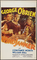 "Movie Posters:Adventure, Windjammer (RKO, 1937). Canadian One Sheet (26"" X 42""). Adventure....."