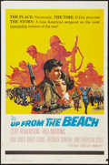 "Movie Posters:War, Up from the Beach and Other Lot (20th Century Fox, 1965). OneSheets (2) (27"" X 41""). War.. ... (Total: 2 Items)"