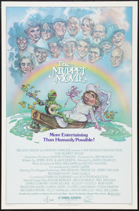 """The Muppet Movie (Associated Film Distributors, 1979). One Sheet (27"""" X 41"""") Guest Stars Style. Musical"""