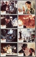 "Movie Posters:Adventure, Raiders of the Lost Ark (Paramount, 1981). Lobby Card Set of 8 (11""X 14""). Adventure.. ... (Total: 8 Items)"