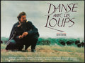 """Movie Posters:Western, Dances with Wolves (Majestic Films International, 1990). FrenchAffiche (23.5"""" X 31.5""""). Western.. ..."""