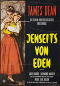 """Movie Posters:Drama, East of Eden (Warner Brothers, R-1962). German A1 (23.25"""" X 33""""). Drama.. ..."""