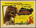 """Movie Posters:Science Fiction, The Beast of Hollow Mountain (United Artists, 1956). Half Sheet(22"""" X 28""""). Science Fiction.. ..."""