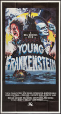 """Movie Posters:Comedy, Young Frankenstein (20th Century Fox, 1974). Three Sheet (41"""" X 81""""). Comedy.. ..."""