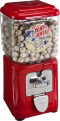 "Baseball Collectibles:Others, 1960's Leaf ""Play Ball"" Gumball Machine...."