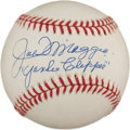 "Autographs:Baseballs, Late 1990's Joe DiMaggio ""Yankee Clipper"" Single Signed Baseball...."