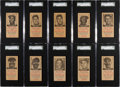 "Baseball Cards:Sets, 1954 N.Y. Journal American ""Brooklyn Dodgers"" Collection (29) With Robinson...."