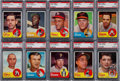 Baseball Cards:Lots, 1963 Topps Baseball PSA Mint 9 Collection (33) With Card #576. ...