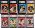 Baseball Cards:Sets, 1959 Topps Baseball Mid to High Grade Complete Set (572). ...