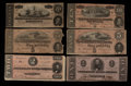 Confederate Notes:1863 Issues, 1863 and 1864 Notes.. ... (Total: 7 notes)
