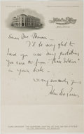 Autographs:Authors, John Dos Passos (American Novelist, 1896-1970). Autographed LetterSigned. Yuma, [n. d., ca. 1920]. Approximately 9.5 x 6 in...