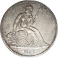 1836 PS$1 Name on Base, Judd-60 Original, Pollock-65, R.1, PR62 ANACS. Silver. Plain Edge. Die Alignment IV (medallic tu...