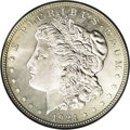 Proof Morgan Dollars: , 1921 $1 Zerbe PR63 PCGS. Fully struck with shallow-mirrored fieldsthat have a light coating ...