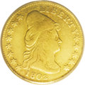 Early Quarter Eagles: , 1802/1 $2 1/2 VF20 PCGS. Breen-6118, BD-3, R.5. While all 1802Quarter Eagles are traditionally referred to as overdates, n...