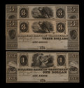 Obsoletes By State:Michigan, Ann Arbor, MI- Millers Bank of Washtenaw $1; $3 (2). ... (Total: 3 notes)