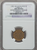 Civil War Merchants, (1861-65) A. Mester & Co., Eaton Rapids, MI, F-300E-1b, R.7-Environmental Damage - NGC Details. Unc. ...