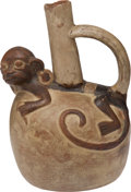 Antiques:Antiquities, Pre-Columbian Moche Figural Pot....