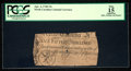Colonial Notes:North Carolina, North Carolina April 4, 1748 15s PCGS Apparent Fine 15.. ...