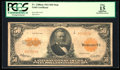 Large Size:Gold Certificates, Fr. 1200a $50 1922 Mule Gold Certificate PCGS Apparent Fine 15.. ...