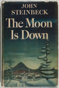 Books:Literature 1900-up, John Steinbeck. The Moon is Down. New York: Viking, 1942.First edition, first printing. First state with period on ...