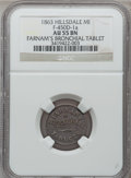 Civil War Merchants, 1863 Farnam's, Hillsdale, MI, F-450D-1a, R.8, AU55 NGC. ...