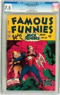 Golden Age (1938-1955):Science Fiction, Famous Funnies #211 (Eastern Color, 1954) CGC VF- 7.5 Cream tooff-white pages....
