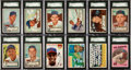 Baseball Cards:Lots, 1952-1959 Topps Chicago Cubs Collection (185). ...