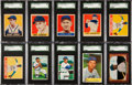 Baseball Cards:Lots, 1948 - 1955 Bowman and Leaf Chicago Cubs Baseball card Collection(129) With '48 Leaf SPs. ...