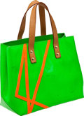 Luxury Accessories:Bags, Heritage Vintage Louis Vuitton Green Vernis Lead PM Robert WilsonBag. ...
