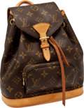 Luxury Accessories:Bags, Heritage Vintage Louis Vuitton Classic Monogram Mini MontsourisBackpack. ...