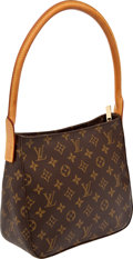 Luxury Accessories:Bags, Heritage Vintage Louis Vuitton Classic Monogram Looping MM ShoulderBag. ...