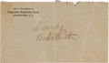 Autographs:Others, 1930's Babe Ruth Signed Envelope....