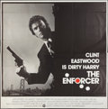 "Movie Posters:Crime, The Enforcer (Warner Brothers, 1977). International Six Sheet (81""X 81"") Flat Folded. Crime.. ..."