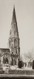 Fine Art - Work on Paper:Print, JOHN TAYLOR ARMS (American, 1887-1953). Group of three: Spire, 1939; Graveyard, 1939; Gothic Church, 1947. Etchi... (Total: 3 Items)