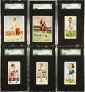 """Golf Cards:General, 1931 Churchman's """"Sporting Celebrities"""" & 1930 Wills """"Famous Golfers"""" Complete Set Pair (2). ..."""