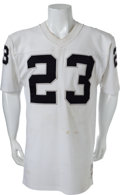 Football Collectibles:Uniforms, 1972-74 Charlie Smith Game Worn Oakland Raiders Jersey. ...