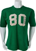 Football Collectibles:Uniforms, Circa 1957 Monty Stickles Game Worn, Signed Notre Dame Fighting Irish Jersey and Pants....